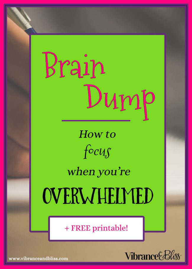 Overwhelm & Stress are signs of a cluttered mind. For you to be able to process more information, you have to first clear the mental clutter.