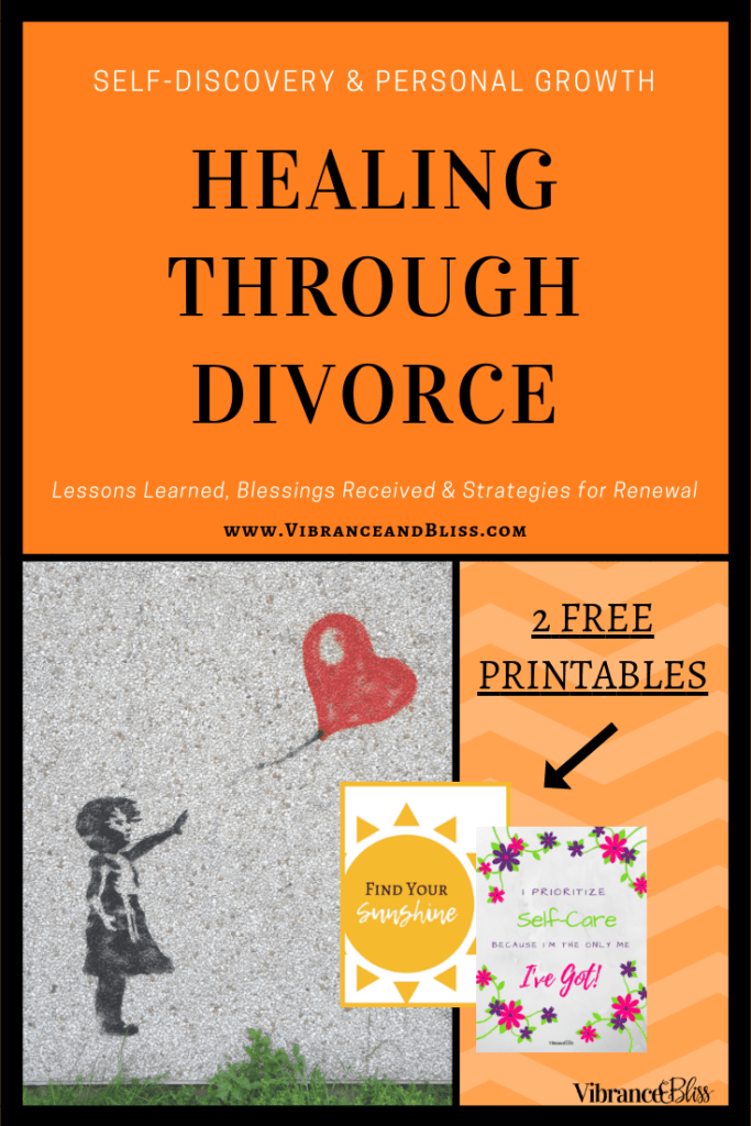 Divorce was something I never thought I'd recover from. This is my journey of healing from the heartbreak I thought would defeat me, and what I've learned along the way.